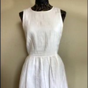 GAP White Linen Dress Fit & Flares - Never Worn!
